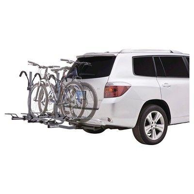 SportRack Crest 4 Platform Hitch Bike Carrier, 4-Bikes, Granite