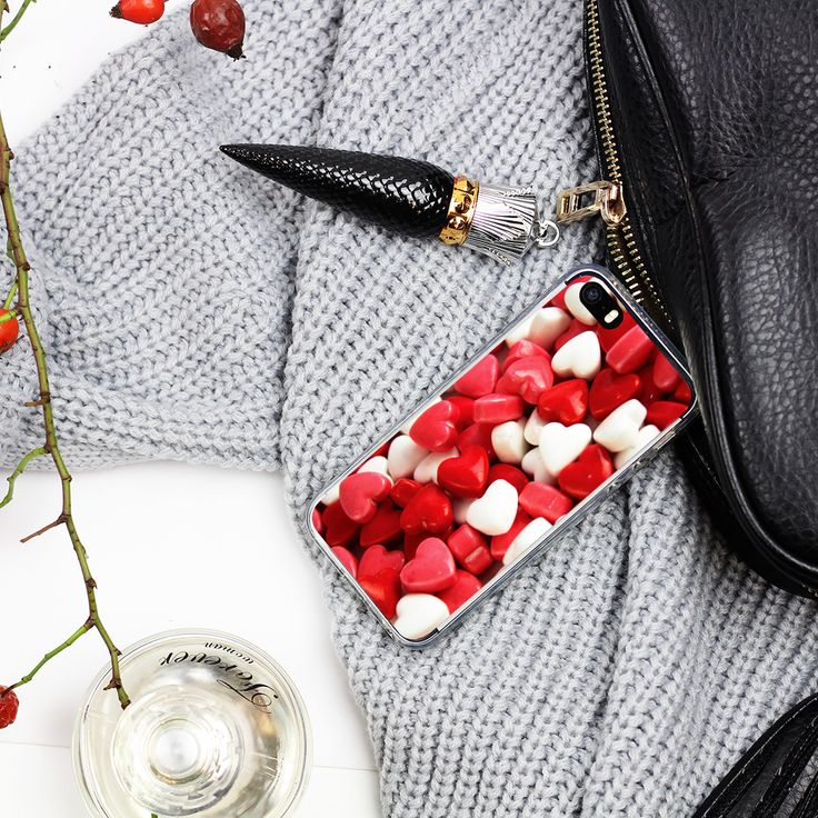#hearts #sweets #red #case www.etuo.pl