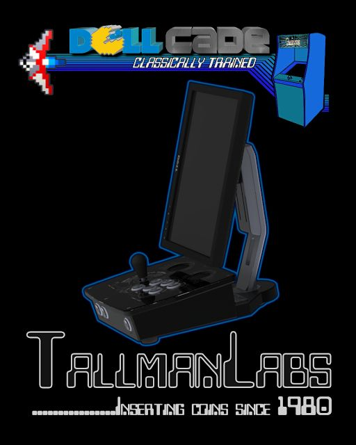 TallmanLabs - Runawaybrainz: Dellcade Compact Arcade Machine Build Part Three: The Assembly Line