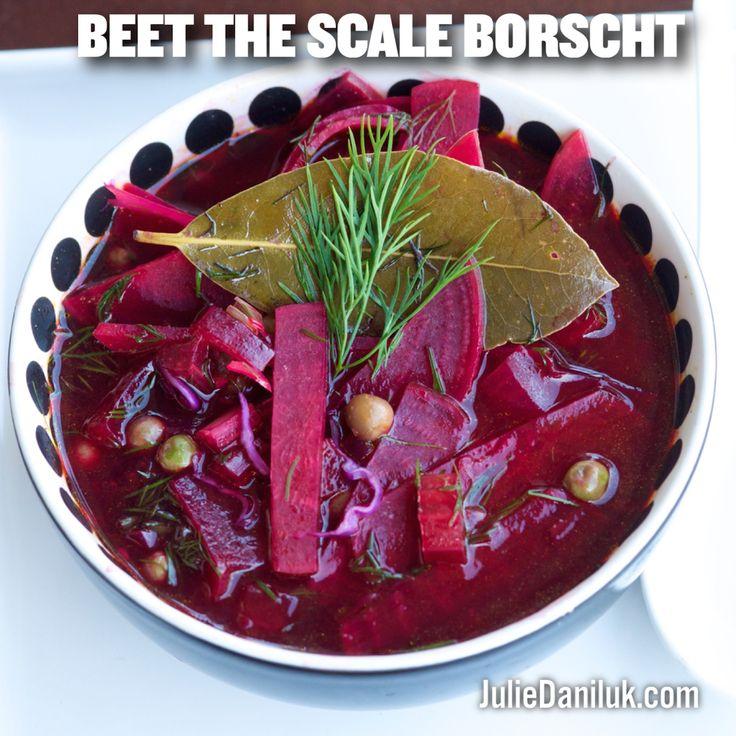Beet The Scale Borscht