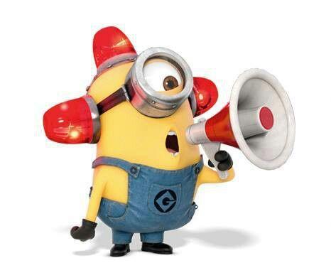 Fire Alarm Minion | Work not work | Pinterest | Bee do ...