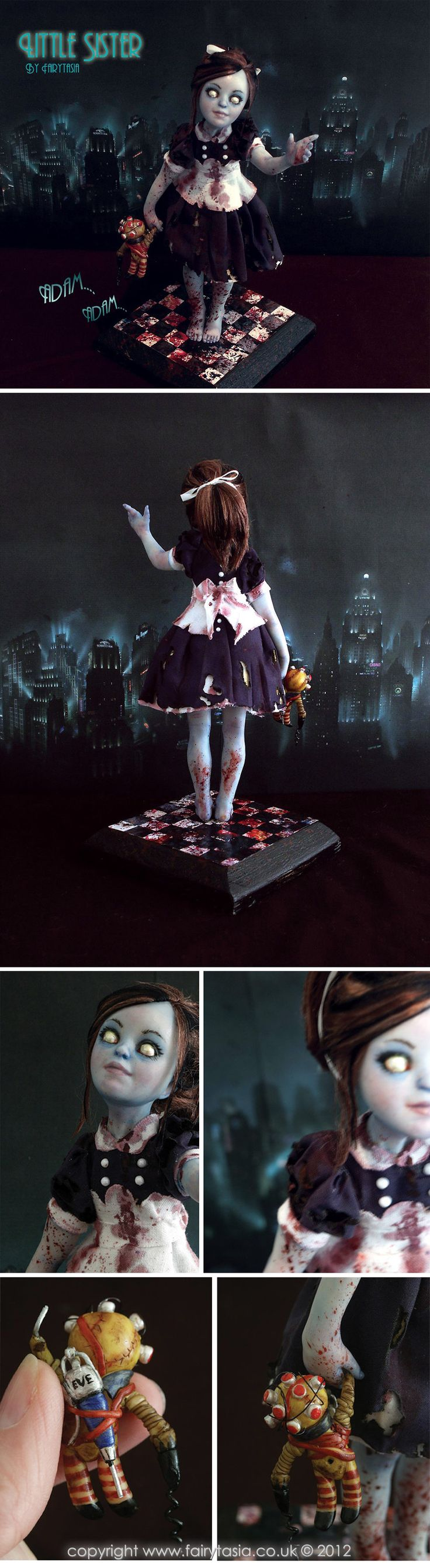 Fairytasia OOAK Little Sister Bioshock up on eBay by fairytasia.deviantart.com