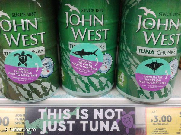 Thon : John West, la soeur britannique de Petit Navire, retirée des rayons de…