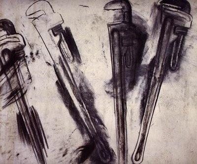 1010 Drawing: Jim Dine