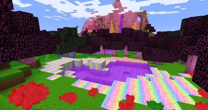 A Cute And Colorful Texture Pack How To Install Kawaii World Resource Pack Download The Resource Pack Open Minecraf Minecraft Designs Minecraft Minecraft 1