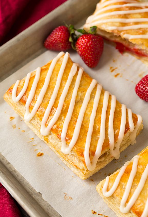 Homemade Toaster Strudels - Cooking Classy