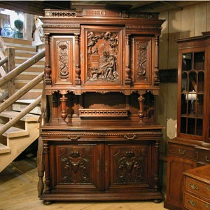 German Antiques Carved Doors Antique Cupboard Gothic Furniture