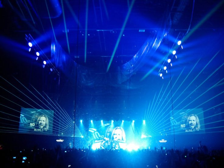 #lasershow on Radio Record 18th Birthday party, #show for #ArminVanBuuren — by #DreamLaser
