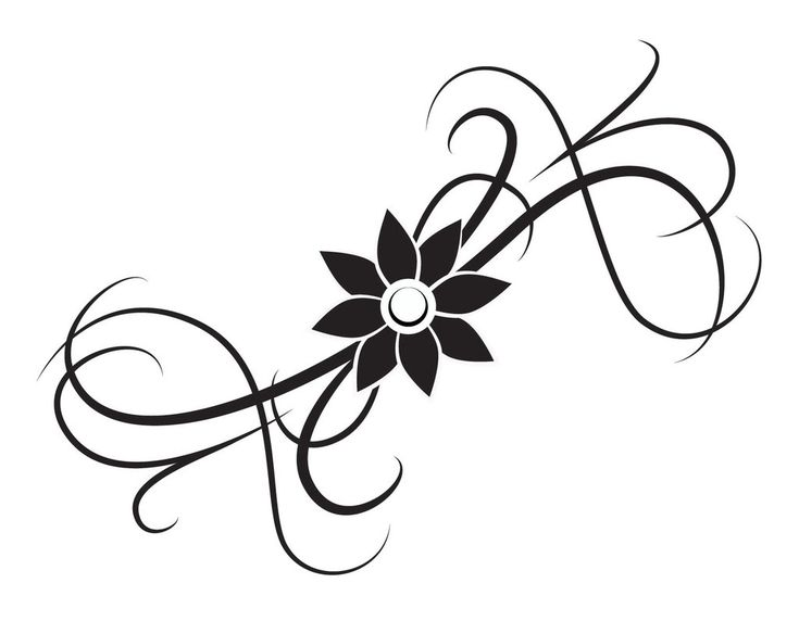 39 best Simple Flower Tattoos images on Pinterest Simple flowers