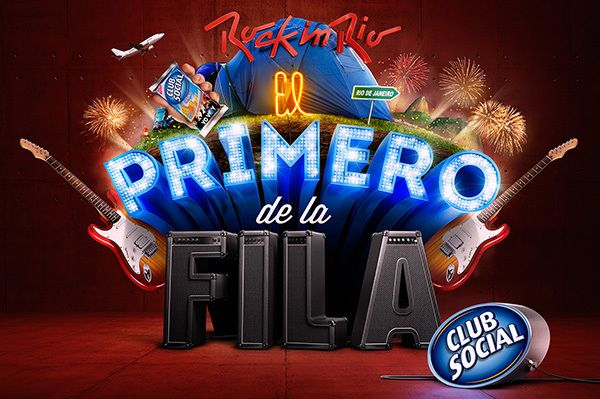 Rock in Rio + Club Social on Behance