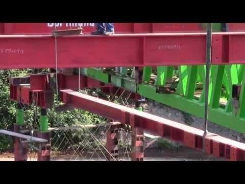12,5 Millionen Brückentragbögen streichen T 1 Mobilkraneinsatz