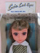 Сьюзи Грустные глаза куклы коричневые волосы 60 Pre Blythe большие глаза Hong Kong Fashion Doll nrf