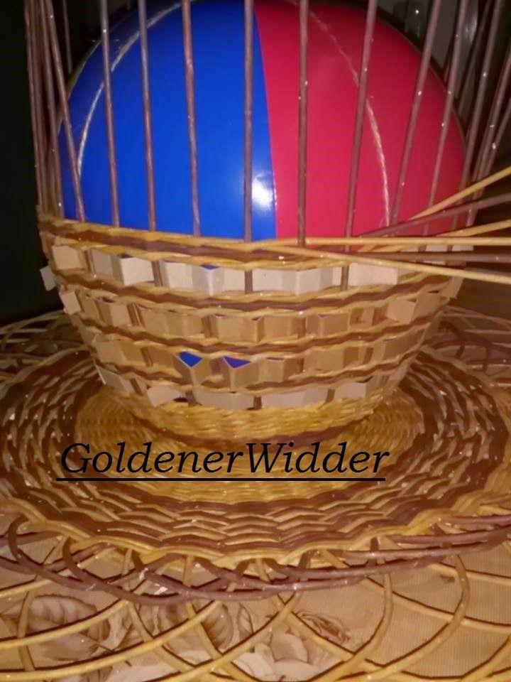 Плетение из газетных трубочек: Абажур, ажур, круг, мяч, панно, декорация.