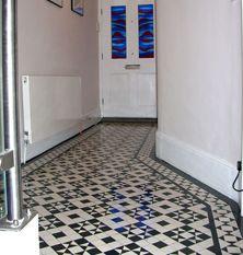 Palace Victorian hallway tiling
