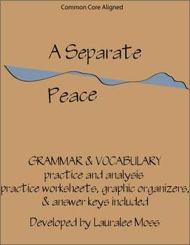 a review of the novel a separate peace by john knowles Gene forrester's difficult journey towards maturity and the adult world is a main focus of the novel, a separate peace, by john knowles gene's journey begins the moment he pushes phineas from the tree and.