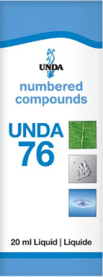 Unda 76  Impotency due to Nervous Exhaustion Unda 76 is indicated for nervous exhaustion, the aftereffects of overexertion, sexual impotence and accompanying symptoms. Sexual impotence and decreased libido can occur as a result of nervous exhaustion.