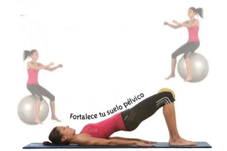 Los músculos del suelo pélvico suelen presentar una falta de tono muscular, apareciendo problemas en la mujer. Te presentamos ejercicios para trabajar esta zona.