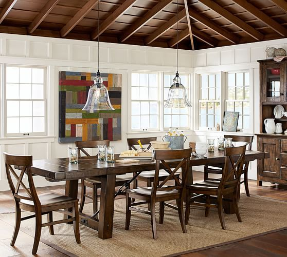 Large Rustic Glass Indoor Outdoor Pendant Home Sweet