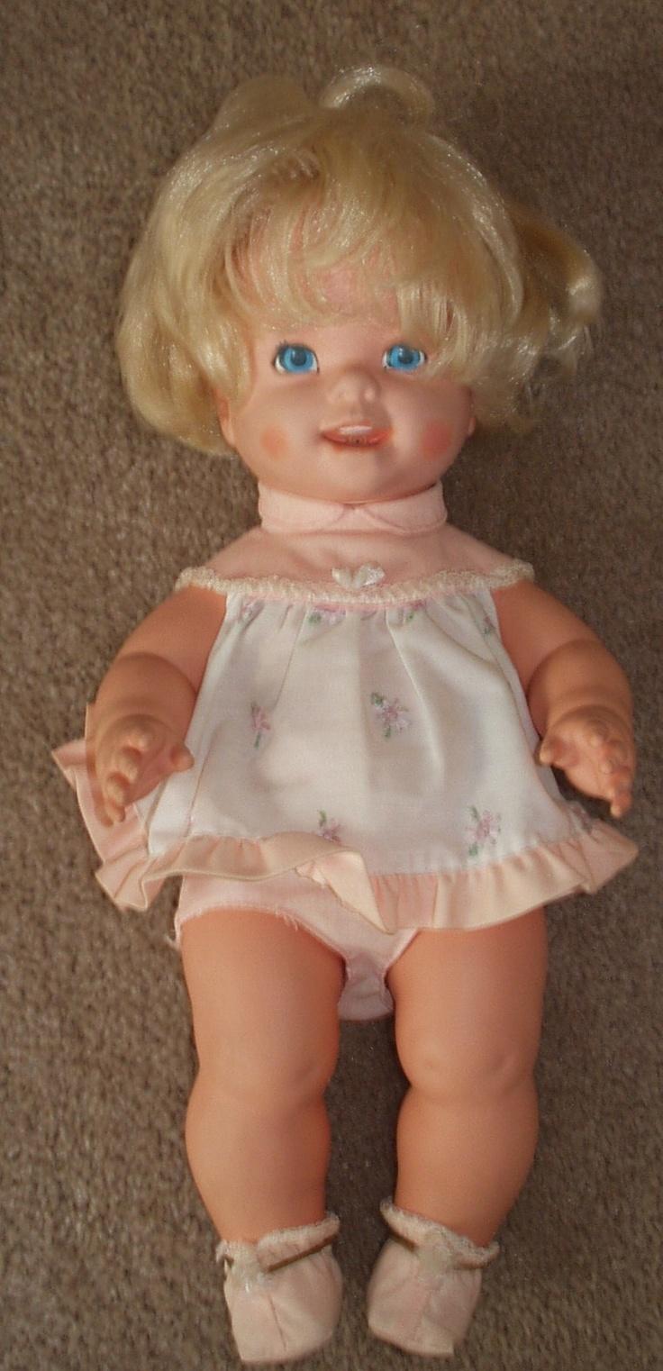 Tearful Baby Tender Love Doll 1971 Vintage Toys