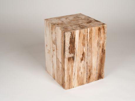 Amaris Elements ST046 Hocker versteinertes Holz