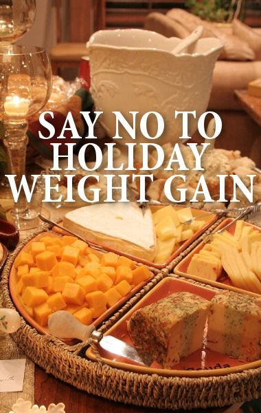 Avoid gaining weight over the holidays. Like me on FB for free tips!