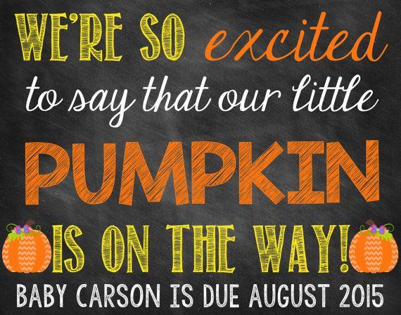 Halloween Pregnancy Reveal // Halloween Pregnancy Announcement ...