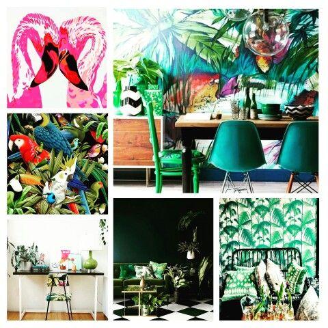 Let's get tropical www.houseofsyl.nl
