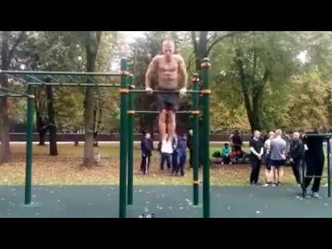22 strict muscle ups Street Workout Respect