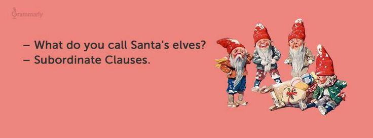 Holiday Grammar jokes