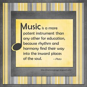 Musical Magic: Plato Knew It All Along FREE Printable
