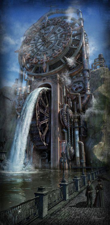 Best 25+ Steampunk city ideas on Pinterest | Fantasy city ...