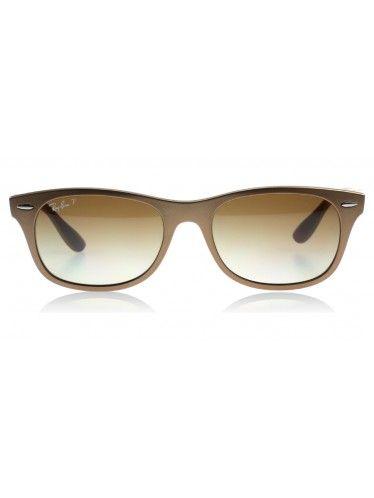 Ray Ban 4207 Liteforce Matte Brown 6033T5 Polarised Sunglasses