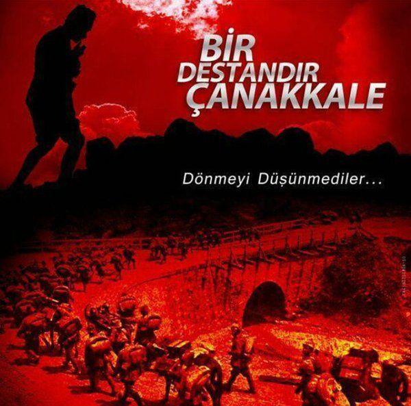 18 Mart Çanakkale şehitlerini saygıyla anma günüdür