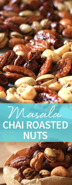 You'll need to make more than one batch of Masala Chai Roasted Nuts. This spicy snack will be eaten in the blink of an eye! http://www.joyofkosher.com/recipes/masala-chai-roasted-nuts/