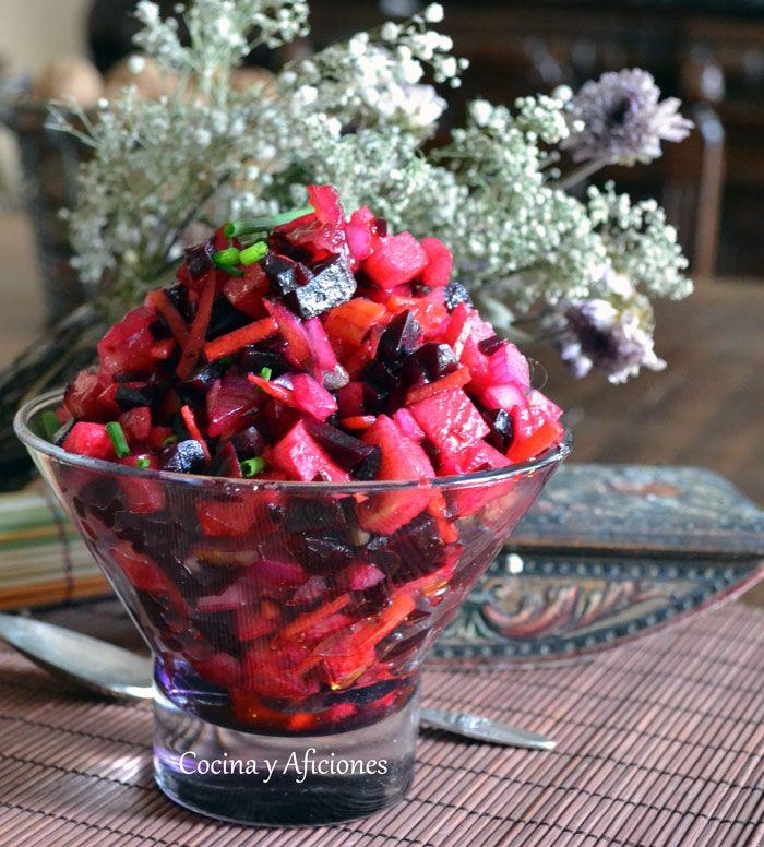 Ensalada De Vinagreta   – Rusia / Cocina rusa