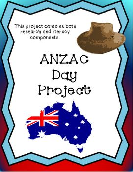 This resource has been designed for students to complete independently, taking approximately one week. It involves the students researching and learning about what ANZAC day means, and interviewing a relative to find out their experiences during a war.