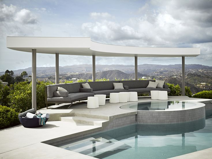 A cool modern perch with spectacular views over Beverly Hills