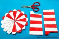 Step 3 Paper Circus Tent craft