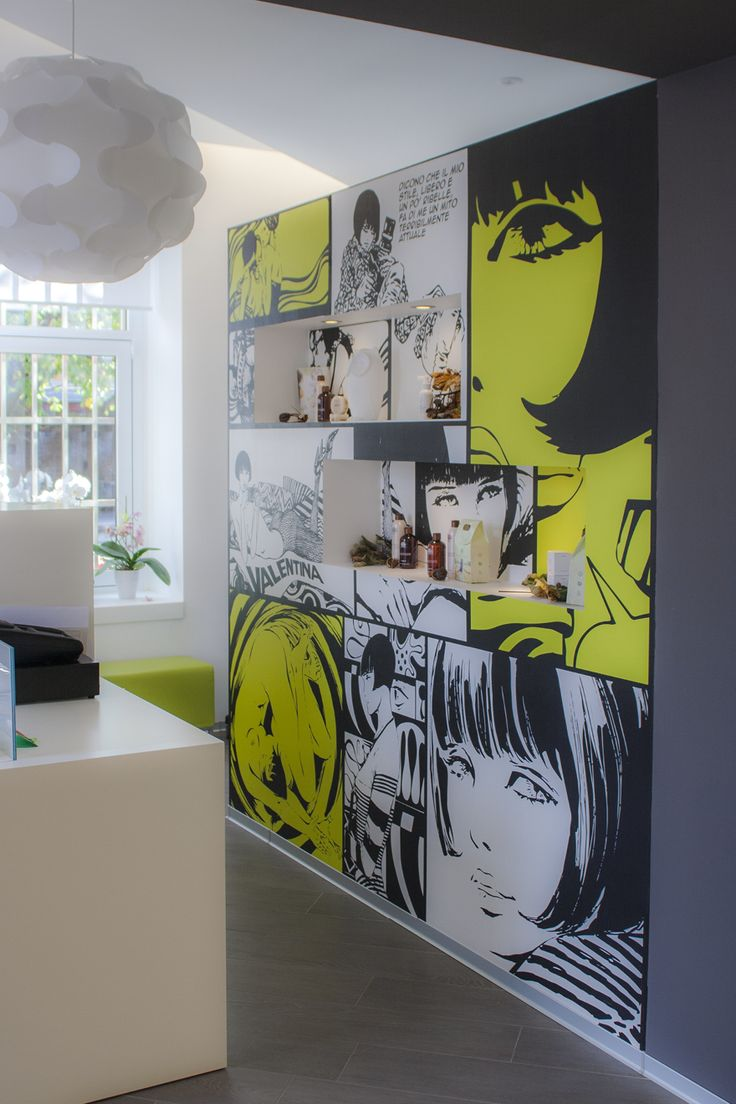 Graphica. – Interno 14 Tolmezzo: rivestimento parete con pellicola Tattoo Wall