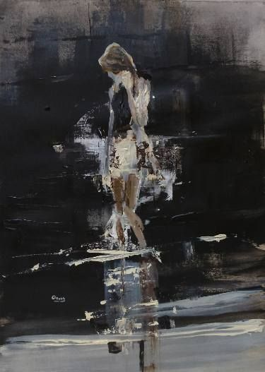 "Saatchi Art Artist OSCAR ALVAREZ; Painting, ""LN-2"" #art"