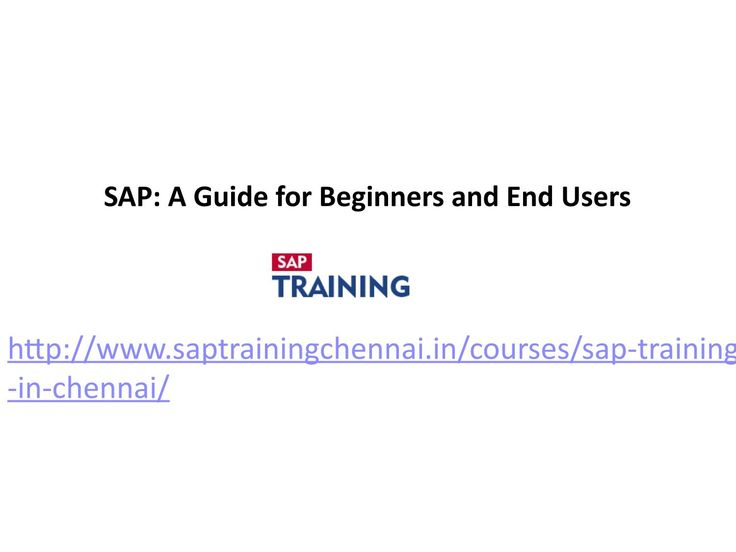 SAP - A guide for beginners and end users  We proudly offering you the best sap fico training in chennai with 100% Placement assurance.Our…