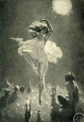 "Norman Lindsay   ""The Audience"
