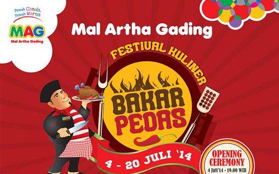 Festival Bakar Pedas di Mal Artha Gading, Jakarta