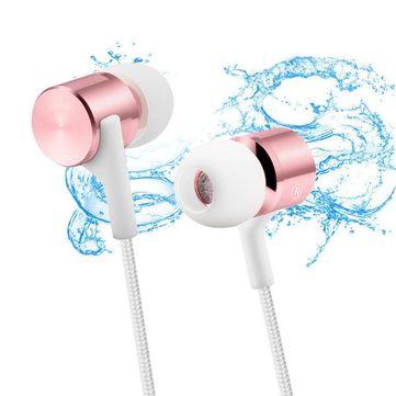 GORSUN C8 Heavy Bass Metal Wired Control 3.5mm Earphone for iPhone Samsung HUAWEI