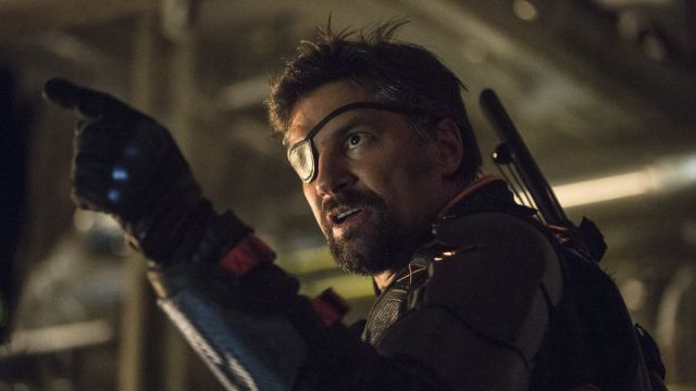 Manu Bennett Set to Return as Deathstroke