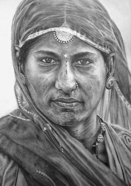 Rajasthan Draw in Sketching by Mithil  Thaker