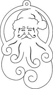 Resultado de imagen para scroll saw christmas ornament