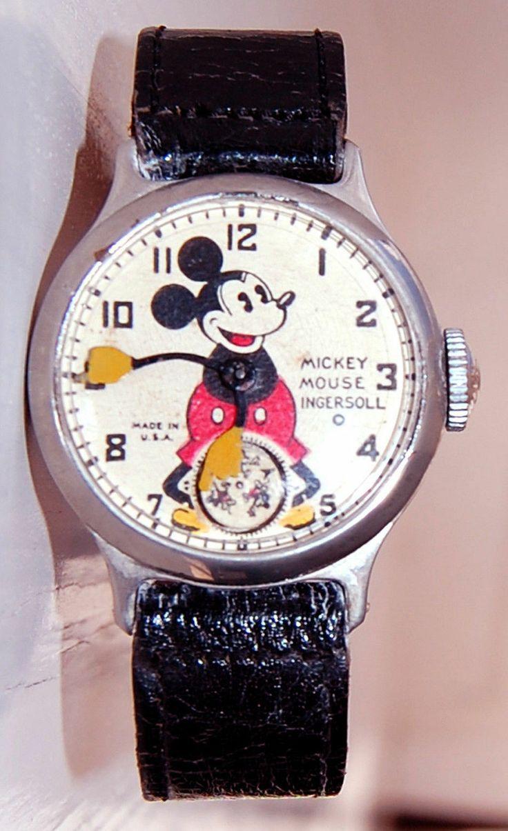vintage ingersoll disney watch