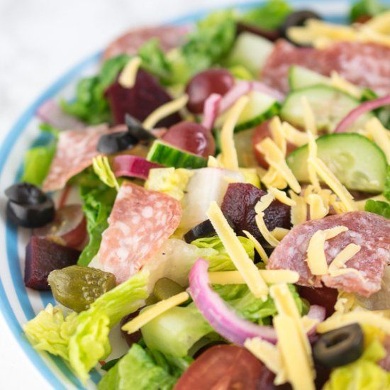 If you love the salad bar in Subway sandwich shops, you are going to love this salad!