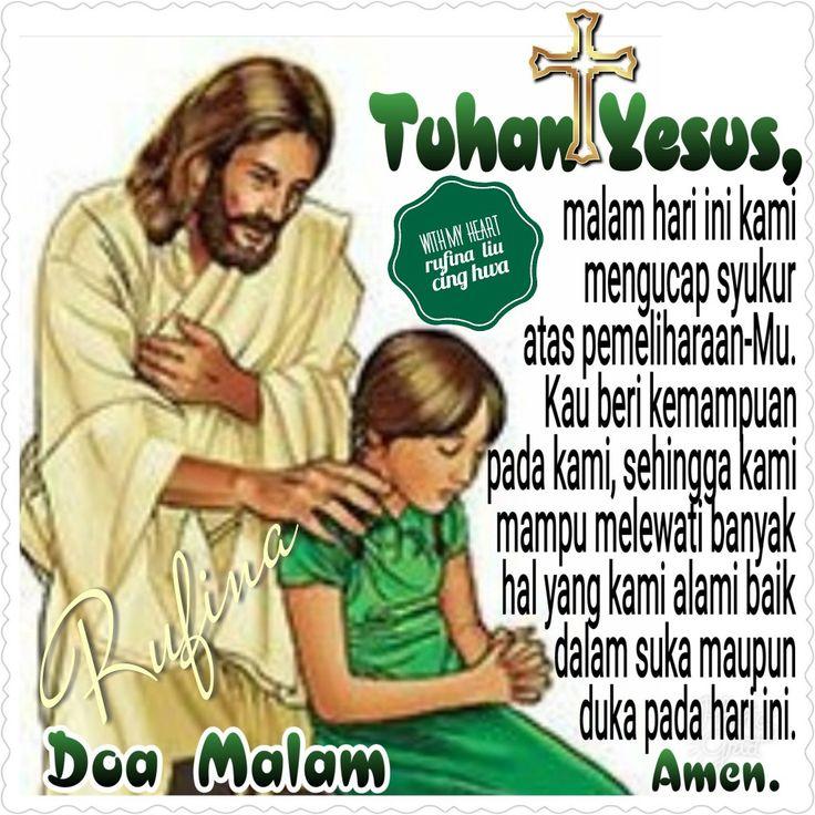 ✿*´¨)*With My Heart  ¸.•*¸.• ✿´¨).• ✿¨) (¸.•´*(¸.•´*(.✿ GOOD NIGHT....GBU ~  Yesaya 27:3 Aku, TUHAN, penjaganya; setiap saat Aku menyiraminya. Supaya jangan orang mengganggunya, siang malam Aku menjaganya;